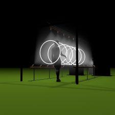 Version OUTDOOR - le public peut pénétrer les écrans